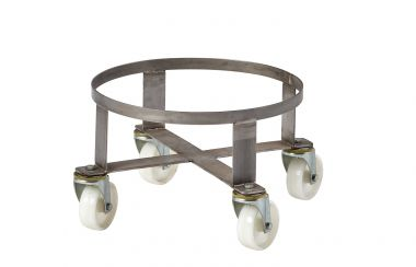 Circular Stainless Steel Dolly