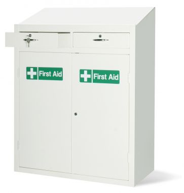 First Aid Storage Cupboard And Workstation - FAWS1